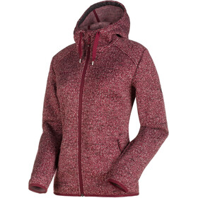Mammut Chamuera ML mid layer Donna rosso